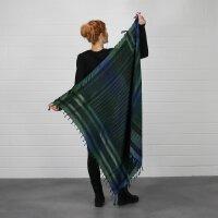Palituch Tie dye Batik bunt schwarz 2 Kufiya PLO Tuch