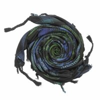 Kufiya - Stars large & small black - Tie...