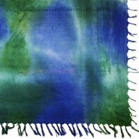 Palituch - Tie dye Batik bunt 02 - Kufiya PLO Tuch