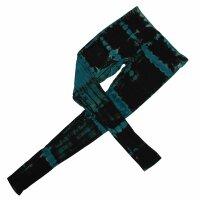 Leggings - Batik - Birch - black - blue-petrol