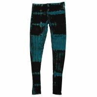 Leggings - Batik - Birch - schwarz - blau-petrol