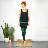 Leggings - Batik - Birch - black - green-forest green