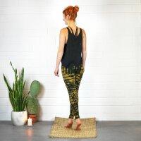 Leggings - Batik - Cortex - black - brown-ochre brown
