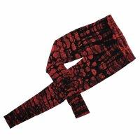 Leggings - Batik - Cortex - schwarz - rot-burgund