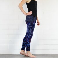 Leggings - Batik - Sun - blau