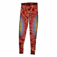 Leggings - Batik - Sun - colourful - red