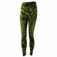 Leggings - Batik - Sun - grün-gelbgrün