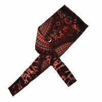 Leggings - Batik - Sun - red
