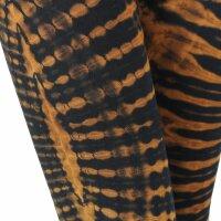 Leggings - Batik - Sun - black - orange-brown