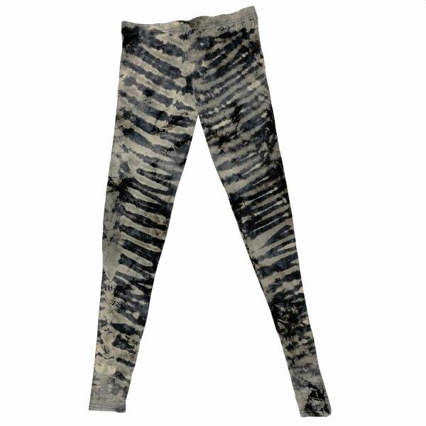 Leggings - Batik - Zebra - grey - blue grey