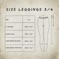 3/4 Leggings - Batik - Bamboo - different colours