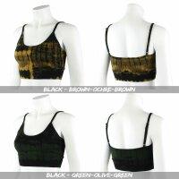 Sports Bra - Crop Top - Batik - Birch - verschiedene Farben