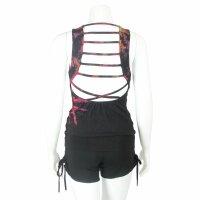 Top mit cutouts am Rücken - Batik - Tread - verschiedene Farben