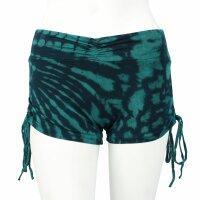 Shorts mit Raffung - Batik - Sun - verschiedene Farben