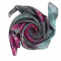 Baumwolltuch - Allover - tie dye - quadratisches Tuch