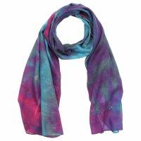 Schal - Allover - tie dye - 40x140 cm - Halstuch