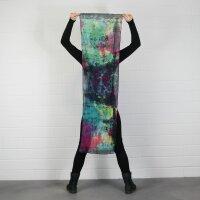 Schal - Bamboo - bunt tie dye - 40x140 cm - Halstuch