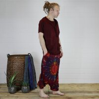 Harem pants - Aladdin pants - bloomers - Goa - batik - model 05