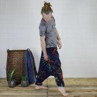 Harem pants - Aladdin pants - bloomers - Goa - batik - model 02