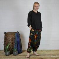 Harem pants - Aladdin pants - bloomers - Goa - batik - model 01