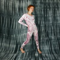 Leggings - Batik - Sun - creme - braun-bordeaux