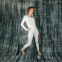 Leggings - Batik - Tread - creme - pastell-bunt