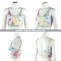Sports Bra - Crop Top - Batik - Allover - verschiedene Farben