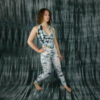 Neckholder - Top - Crop Top - Jersey - Batik - Tie dye - Allover - different colours