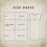 Loosefit dress - Longshirt - Batik - Tie dye - Bamboo - different colours