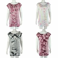 Loosefit Kleid - Longshirt - Batik - Tie dye - Sun -...