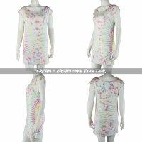 Loosefit Kleid - Longshirt - Batik - Tie dye - Sun - verschiedene Farben