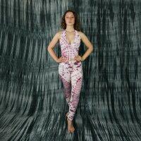 Neckholder - Top - Crop Top - Jersey - Batik - Tie dye - Sun - verschiedene Farben