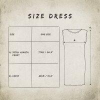 Loosefit Kleid - Longshirt - Batik - Tie dye - Tread - verschiedene Farben