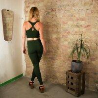 Leggings - Uni - green