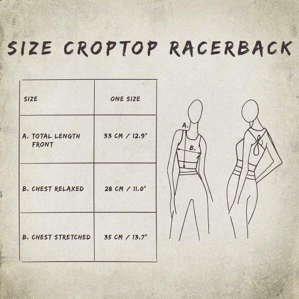 Crop Top - Racerback - Batik - Rain - different colours