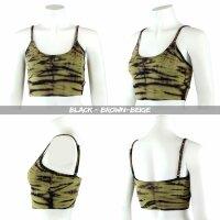 Sports Bra - Crop Top - Batik - Haze - different colours