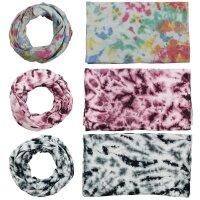 Loop Scarf - Tube Scarf - Batik - Allover - different colours